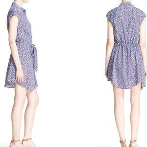 169540a1be Tory Burch Dresses - Tory Burch GiGi print silk shirt dress